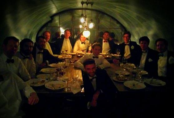 Like the Bullingdon Club...except with curry, limited prospects and haggling over £20 on the bill